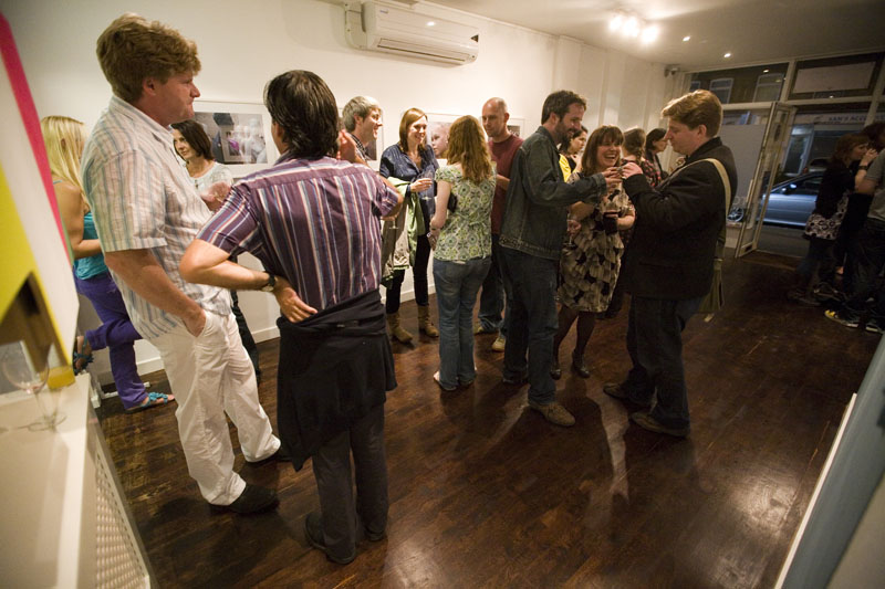 Tokarska Gallery - Private View (Artist names available for caption.)