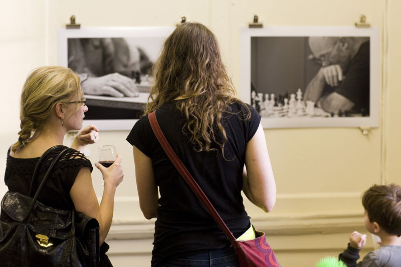 Visitors at Image17 exhibition