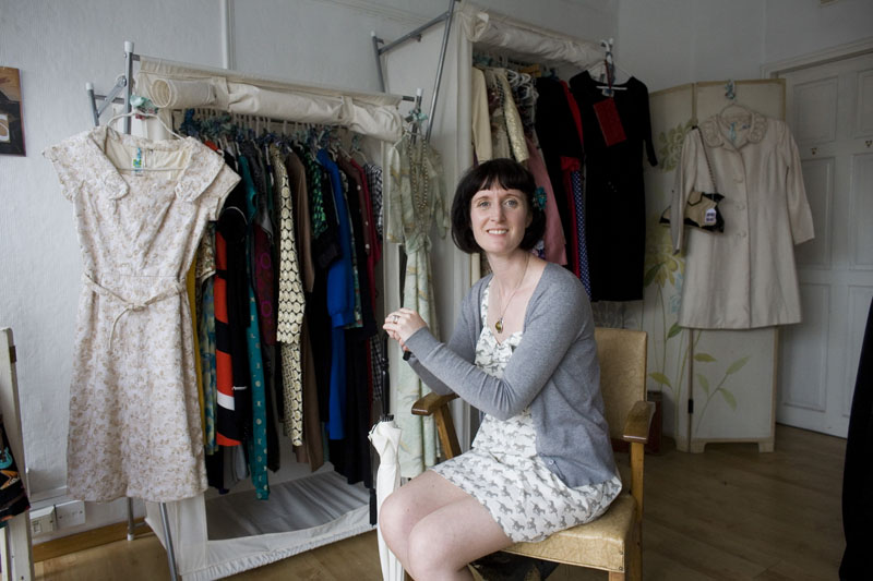 Ms Wanda in her Wardrobe Pop Up Shop