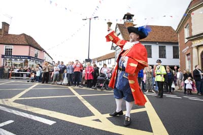 Great Dunmow Town Cryer, Richard Harris