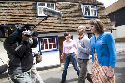 BBC Countryfile's team join in