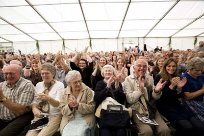The audience at the Flitch Trials
