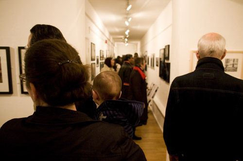 LIP 2010 Exhibition, The Strand Gallery, private view