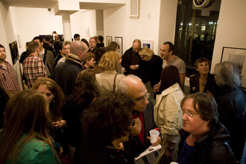 LIP 2010 Exhibition, Upstairs Private View
