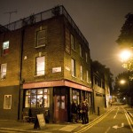 The Red Lion Pub in Hoxton