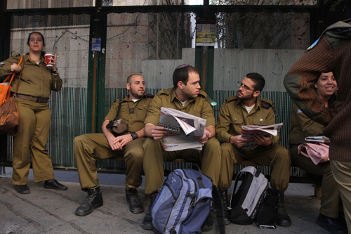 Waiting for the Bus: Jerusalem