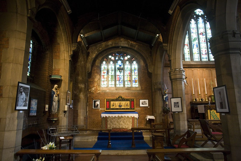 The Lady Chapel at St Barnabas