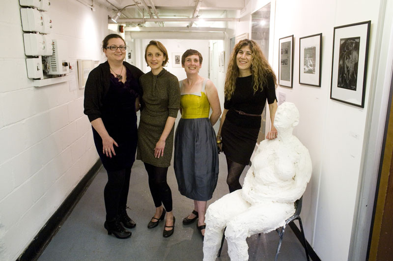 Rachel, Kirsten, Ester and Anna at Inky Cuttlefish